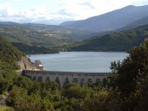 Diga del lago Sant'Angelo